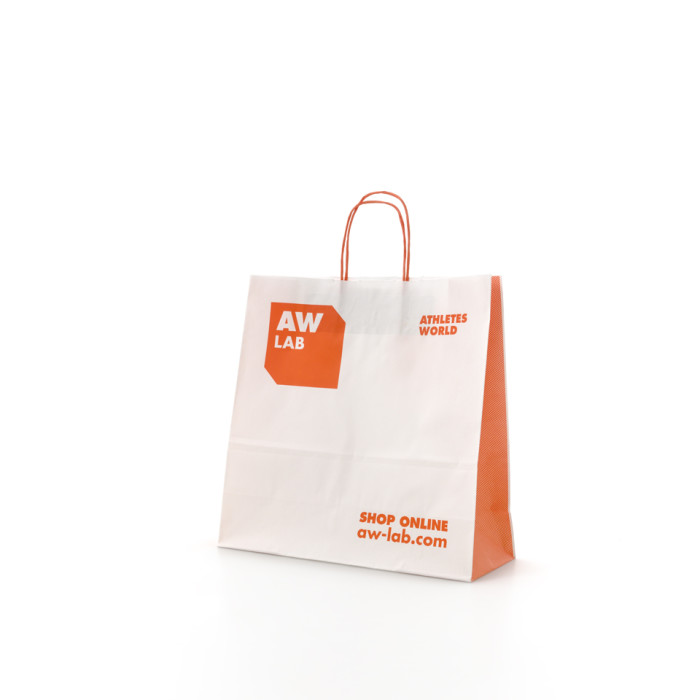 Shopping bag maniglia ritorta