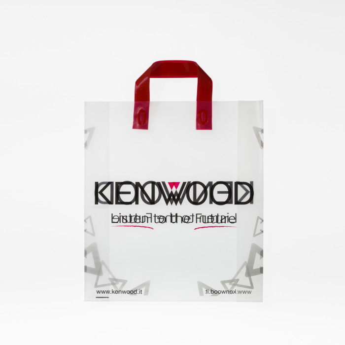 Shopping bag maniglia termosaldata