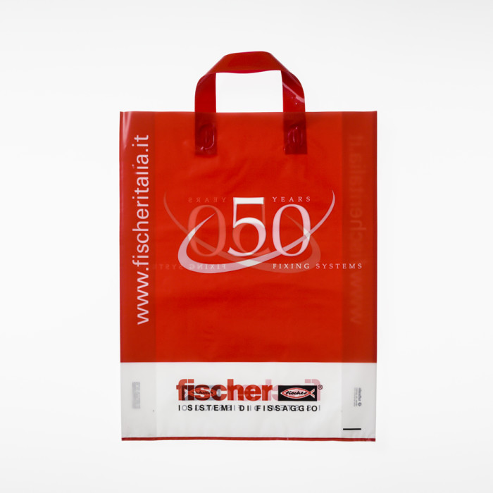 Shopping bag plastica personalizzata
