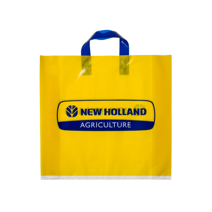 Shopping bag plastica maniglia termosaldata